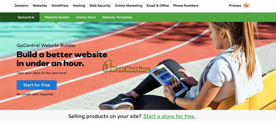 Godaddy Free Website Builder Trial