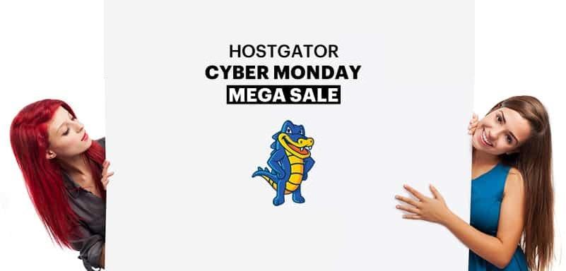 HostGator Cyber Monday Sale 2018