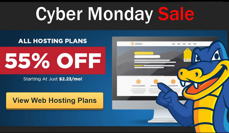 Hostgato Cyber Monday 2018