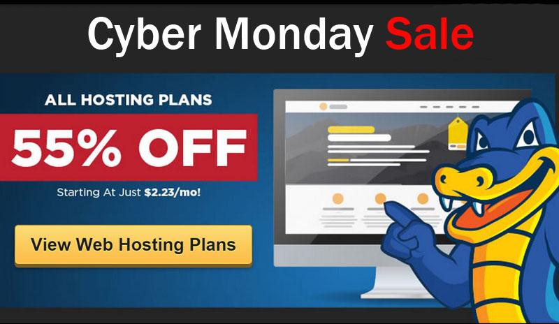 Hostgato Cyber Monday Deal