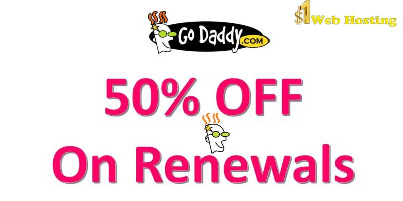 Godaddy Domain Renewal Deal