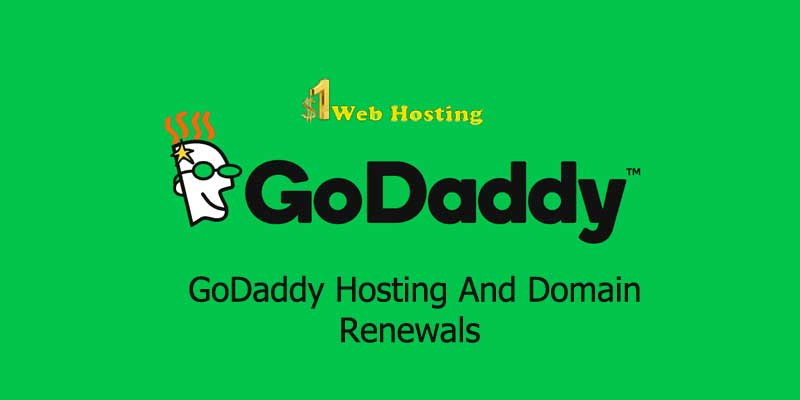 Godaddy Renewal Hosting Deal