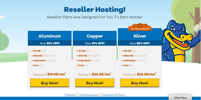Hostgator Reseller Hosting Deals