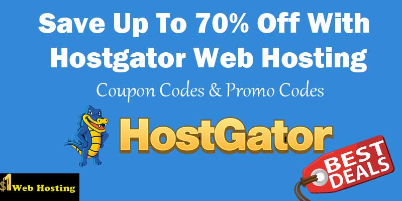 Hostgator hosting 70 off deal