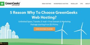5 Reason Why To Choose GreenGeeks Web Hosting?