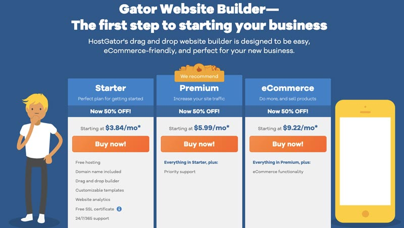 HostGator Website Builder Coupon