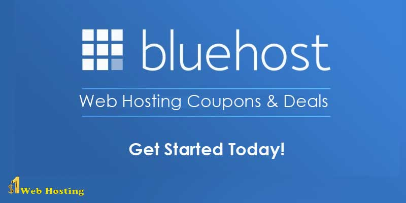 Bluehost Coupons & Promo Codes With Free Domain Name 2020