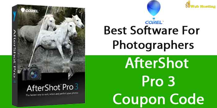 Corel Aftershot Coupon Code