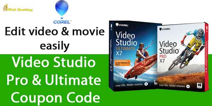 Corel Video Studio Pro Coupon