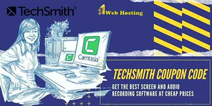 TechSmith Coupon Code & Promo Code 2020