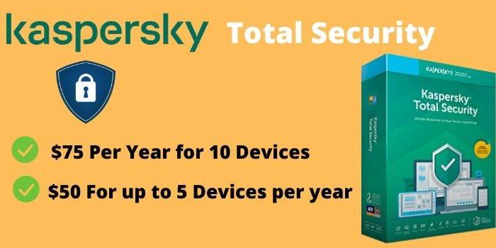 Kaspersky Total Security Pricing Plans