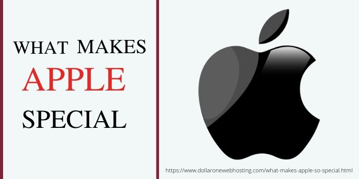 What makes Apple so Special?