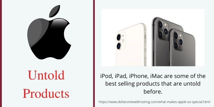 What makes Apple so Special- Unique products