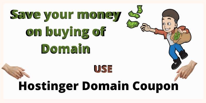Hostinger Domain Coupon