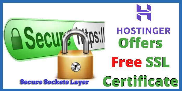 Does Hostinger Offer a Free SSL Certificate?