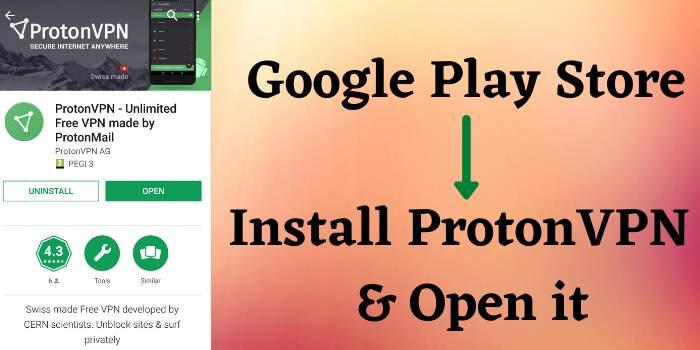 Install ProtonVPN