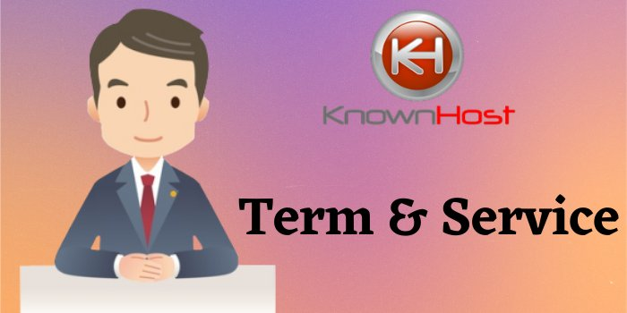 KnownHost Term & Service