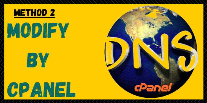 Modify DNS KnownHost by cPanel Method
