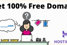 Get 100% free domain name