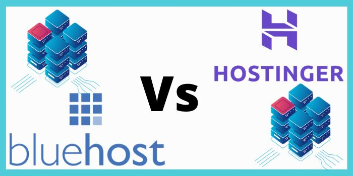 Hostinger Vs Bluehost 2020 – Hosting Plans & Pricing