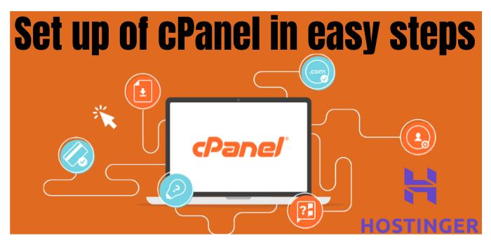 set up of cPanel