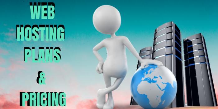 web hosting plan & pricing