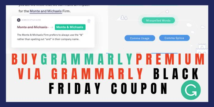 Buy Grammarly Premium by Grammarly Black Friday Coupon