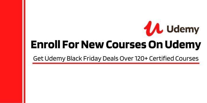 Get Udemy Black Friday Coupon