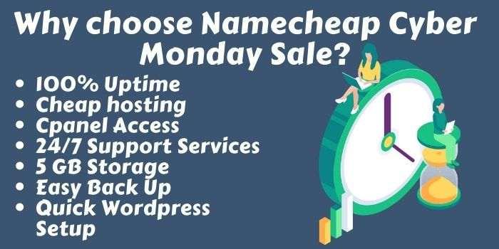 NameCheap Cyber Monday offers