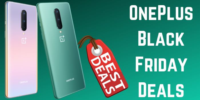 Upto 60% Off OnePlus Black Friday Deals 2020