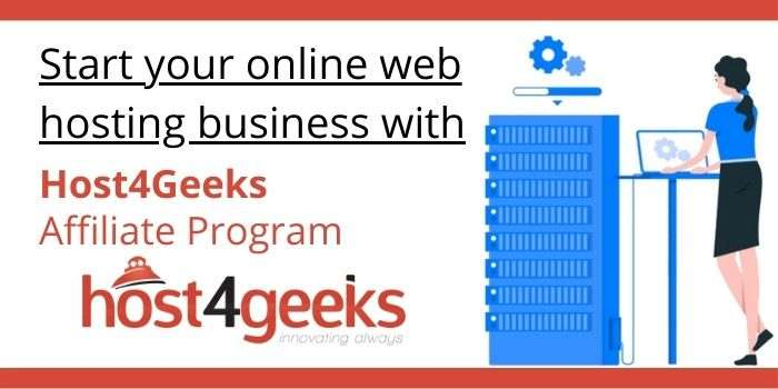 Host4Geeks Affiliate Program