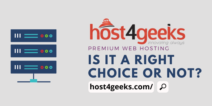 Host4Geeks Review 2021:- Premium Website Required Premium Web Hosting