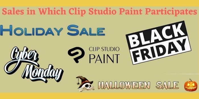 Clip studio Paint Sales