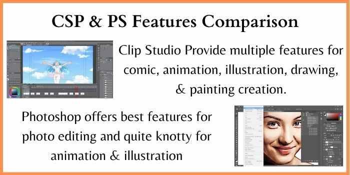 Clip Studio Paint Vs Photoshop Comparison