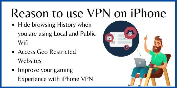 Reason to use VPN on an iPhone