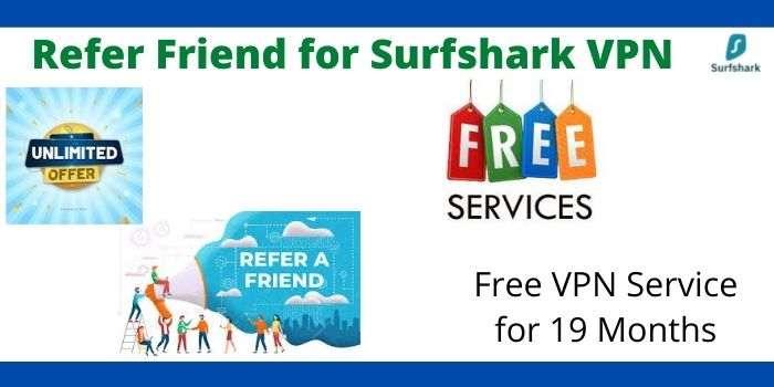 Refer a Surfshark VPN