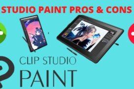 Clip Studio Paint Pros & Cos