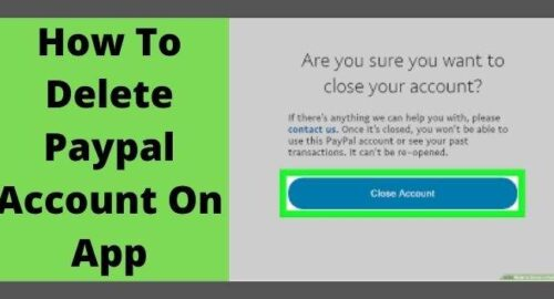 How To Delete PayPal Account On App